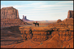 John Ford Point, Monument Valley ( Albert On Crystal ) ( 2012 - 36 x 24 Oil On Canvas )