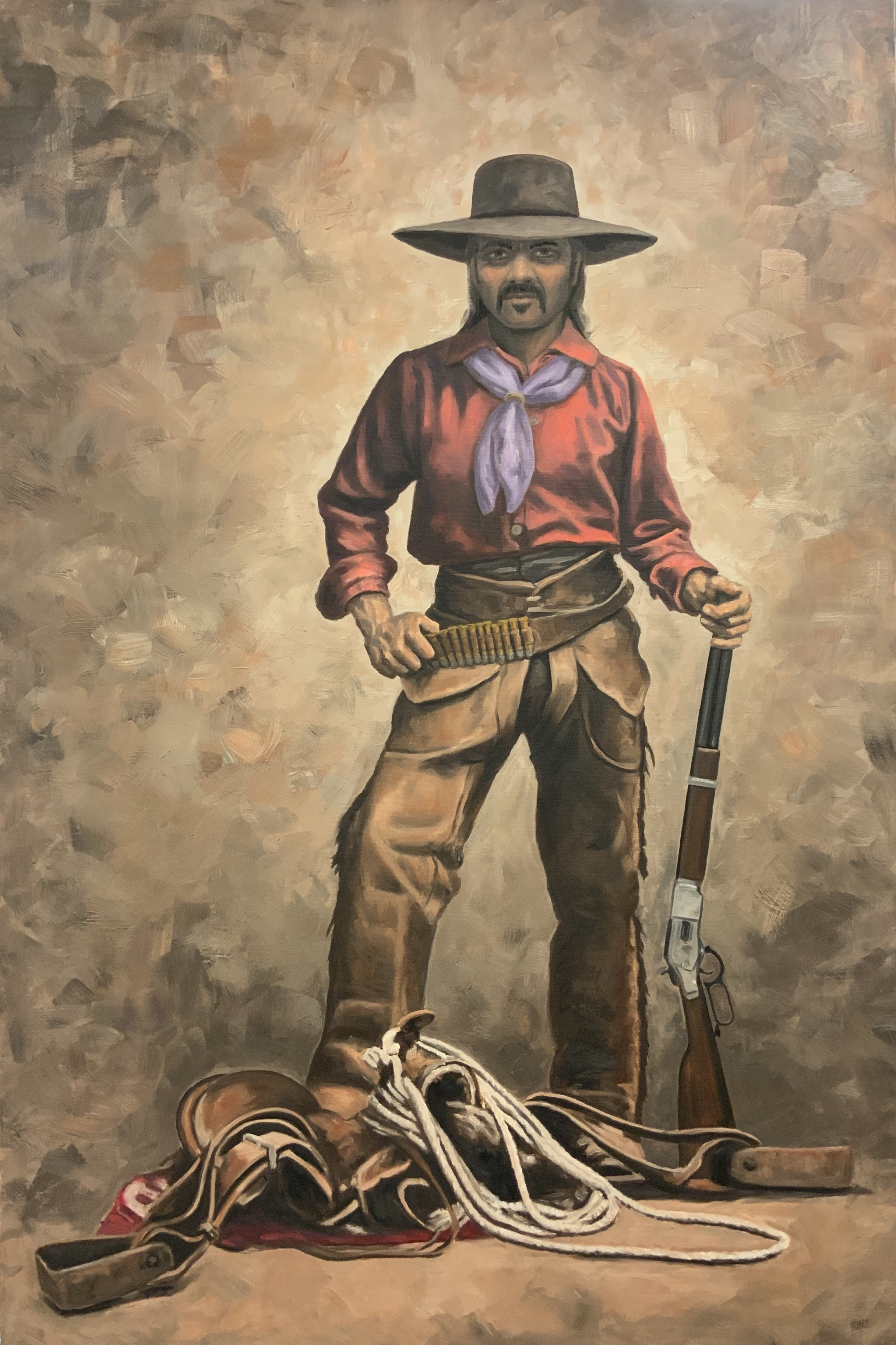 The Rifleman (24 x 36)
