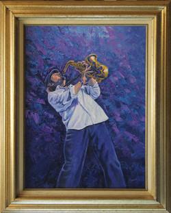 Boney ( 2005 - 18 x 24 Oil On Canvas )