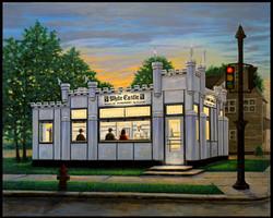 White Castle ( 2011 - 30 x 24 Oil On Canvas )