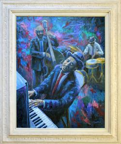 Monk ( 2005 - 30 x 36 Oil On Canvas )