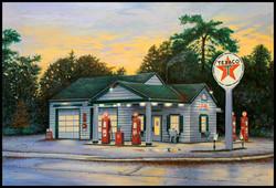Texaco ( 2011 - 36 x 24 Oil On Canvas ) SOLD