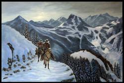 High Pass ( 2016  36 x 24 Oil On Linen Canvas )