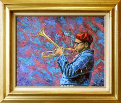 Dizzy No. 2  ( 2005 - 20 x 16 Oil On Canvas )