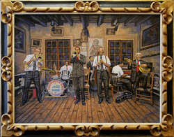 New Orleans Jazz ( 2006 - 24 x 18 Oil On Canvas )