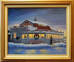 Carlson's Corner ( 2005 - 20 x 16 Oil On Canvas )