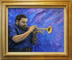 Al Hirt No. 2 ( 2010 - 30 x 24 Oil On Canvas )