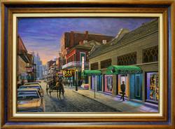 Al Hirt Club - Bourbon Street Circa 1965 ( 2010 - 36 x 24 Oil On Canvas )