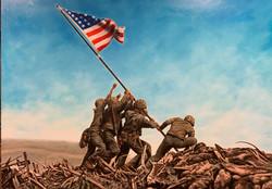 Iwo Jima (2018 - 40 X 30)