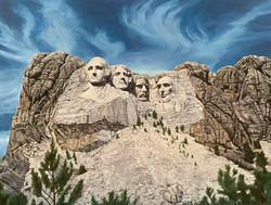 Mount Rushmore (2017 - 40 X 30)