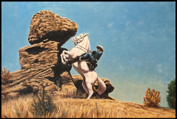Lone Ranger No. 1 ( 2013 - 36 x 24 Oil On Linen Canvas )