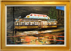 Mickey's Diner ( 2011 - 36 x 24 Oil On Canvas )