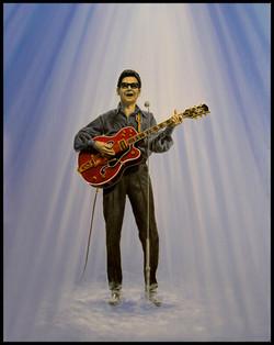 Roy Orbison ( 2008 - 18 x 24 Oil On Canvas )