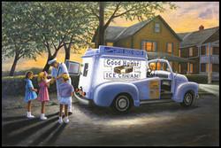 Good Humor ( 2014 - 36 x 24 Oil On Linen Canvas )