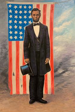 Honest Abe (24 x 36)