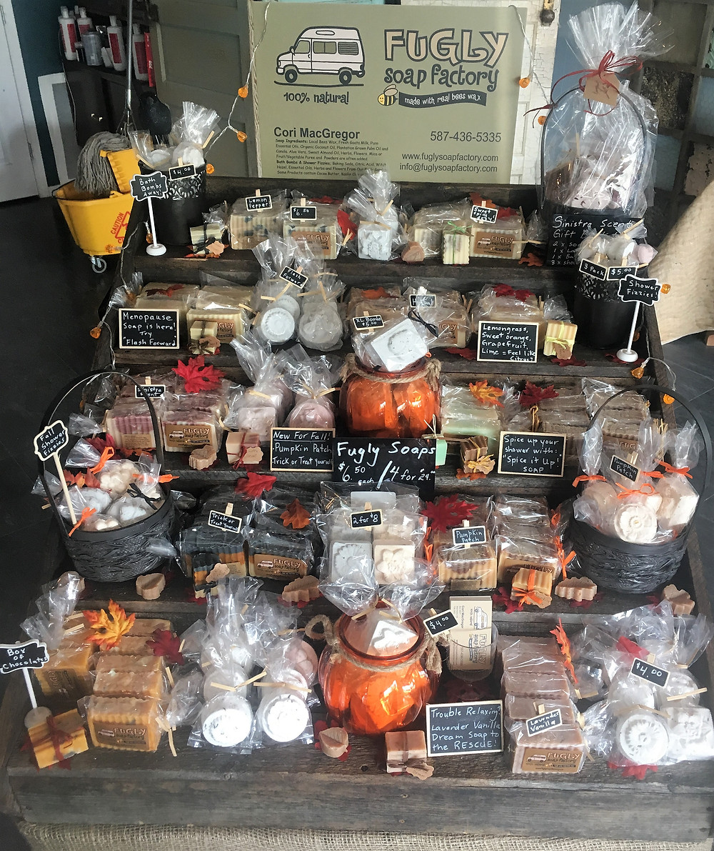 Trick or Treat Yourself, Pumpkin Patch and Spice It Up! soaps, bath bombs and shower fizzies are now available!