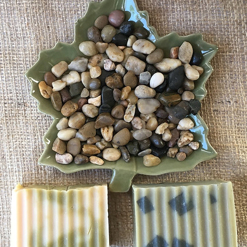Maple Leaf Soap Dish Gift Set