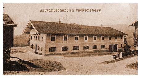 Altwirtschaft in Wackersberg