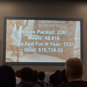 Community Impact Night at Feed My Starving Children