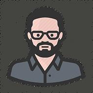 man-beard-glasses-white-512.png