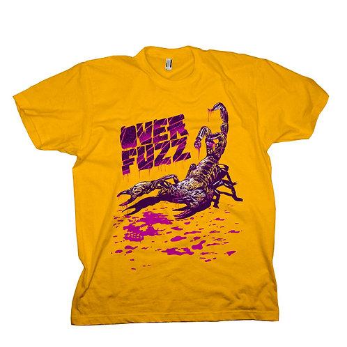 Camiseta amarela com estampa escorpião