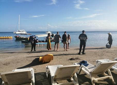 Principales playas y balnearios de Bocas Del Toro son custodiadas por la Policía Nacional