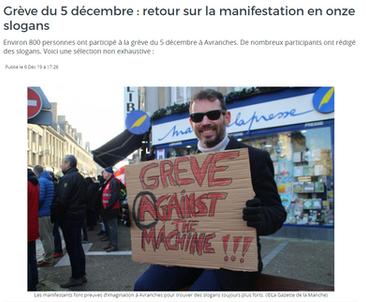 Gazette de la Manche du 6/12/2019
