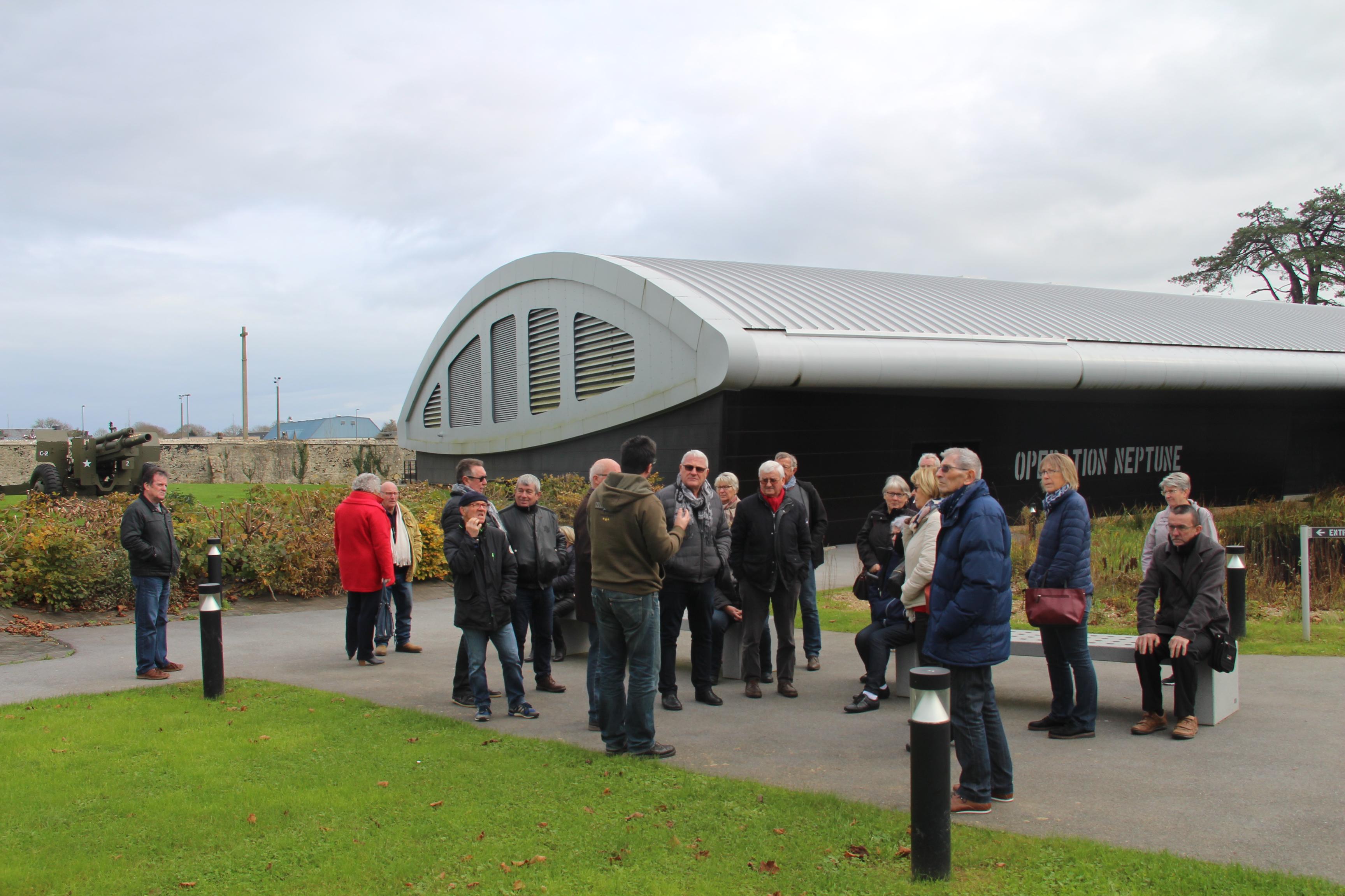 Visite du musée Airborne 14/11/2017