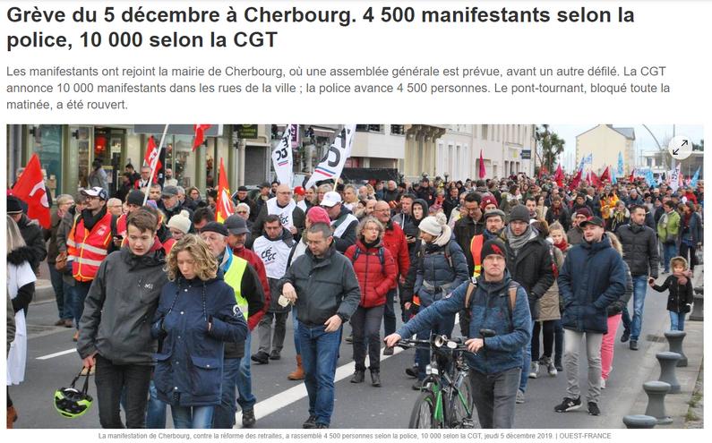 Ouest-France du 5/12/2019
