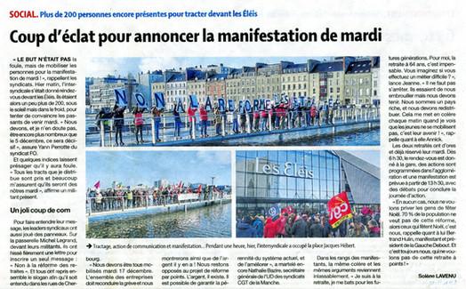 Presse de la Manche du 15/12/2019