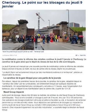La Manche Libre du 09/01/2020