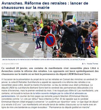 La Manche Libre du 24/01/2020