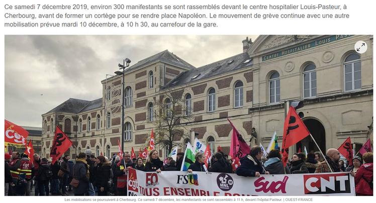 Ouest-France du 7/12/2019