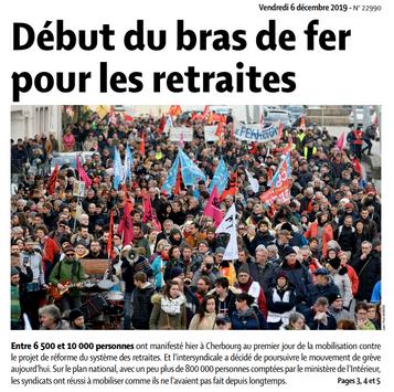 Presse de la Manche du 6/12/2019