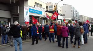 Manifestation du 31 mars 2021 à Cherbourg en Cotentin