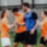 Treffen Christian Fuchs beim Fußballcamp