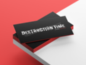 business card mock up destruction time.p