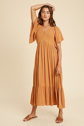 Earthen Midi Dress