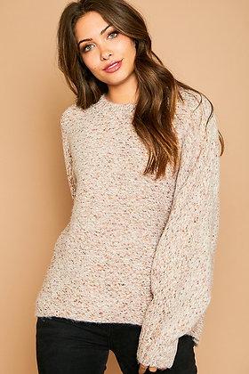 Mauve Be Love Sweater