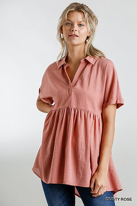 Rose Tunic Top