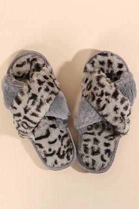 Leopard Slipper