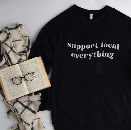 Support Local Crewneck