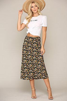 Amber Floral Skirt