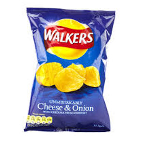 Walkers Cheese & Onion
