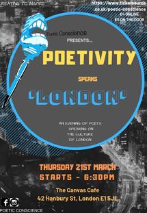 Poetivity - Speaks London
