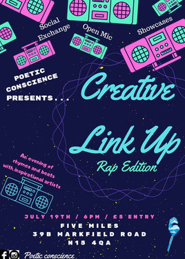 Creative Link Up - Rap Edition