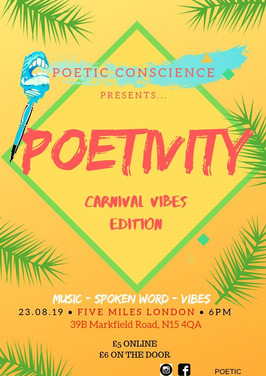 POETIVITY - Carnival Vibes Edition
