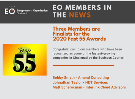 Three Members are Finalists for the 2020 Fast 55 Awards