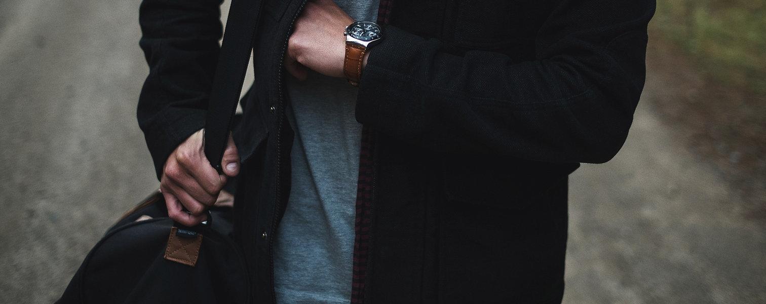 남자 패션 시계