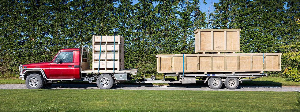 Custom Crating NZ - Wooden Shipping Crates and Custom Freigt Boxes New Zealand